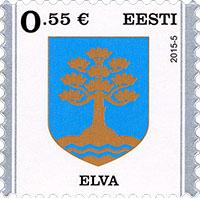 Postzegel Estland 2015 Elva
