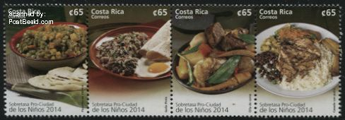 Costa Rica postzegel 2014