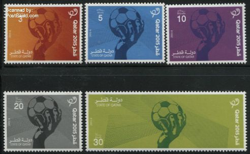 Qatar postzegel 2014