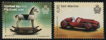 Europazegels San Marino
