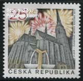 Plzen culturele hoofdstad van Europa postzegel Tsjechië