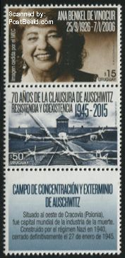 Uruguay postzegel 2015
