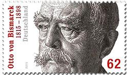Bismarck postzegel Duitsland 2015
