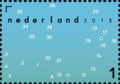 Postzegel Da's toch een kaart waard