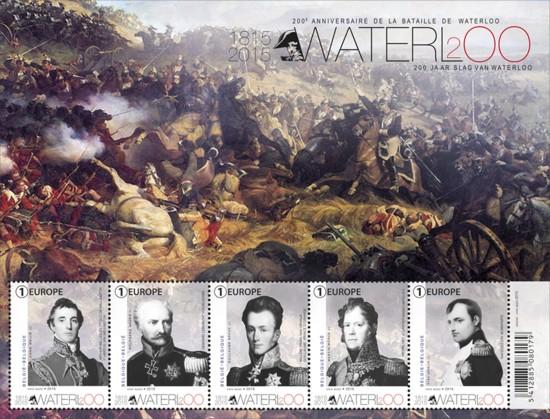Vel 200 jaar Slag van Waterloo - België