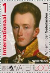 Zegel 200 jaar Slag van Waterloo