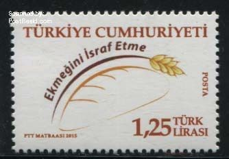 Postzegel Turkije 2015