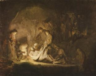 Rembrandt graflegging