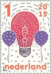 Wetenschap - lamp en ballonnen