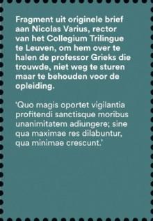 Brieven schrijven - tekst 2 Desiderius Erasmus