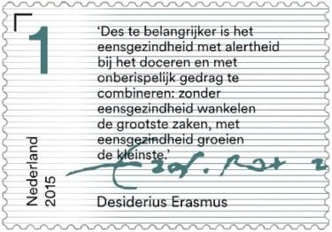Brieven schrijven - tekst Desiderius Erasmus