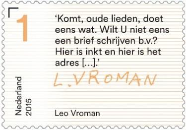 Brieven schrijven - tekst Leo Vroman