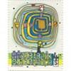 Hundertwasser postzegelj