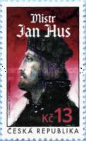Jan Hus postzegel Tsjechie