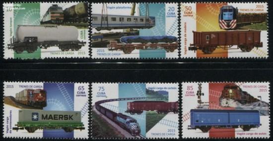 Postzegels Cuba 2015