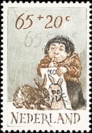 NVPH 1277 - Kinderzegel 1982