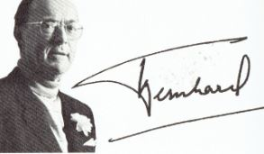 handtekening Bernhard