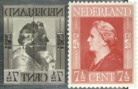 gravure en postzegel Dag van de Postzegel 2015
