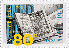 postzegel koninklijke bibliotheek
