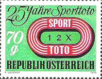 Toto postzegel