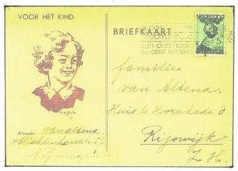 Kind 1935 briefkaart (1)