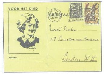 Kind 1935 briefkaart (2)