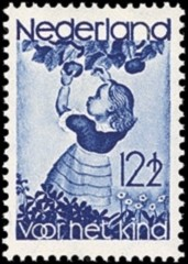 NVPH 282 - Kinderzegels 1935