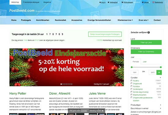 PostBeeld Website