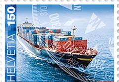 Scheepvaart postzegel