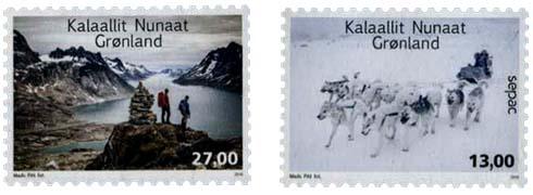 Postzegels Groenland