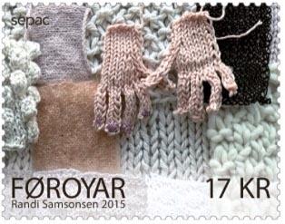 Faroer stamp Randi Samsonsen