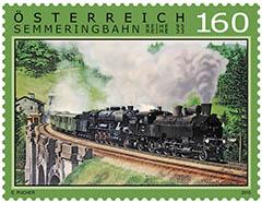 semmeringbahn postzegel