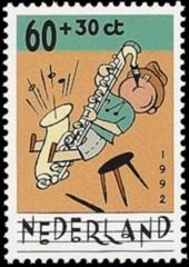 NVPH 1538 Kinderzegel 1992
