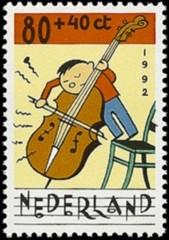 NVPH 1540 Kinderzegel 1992