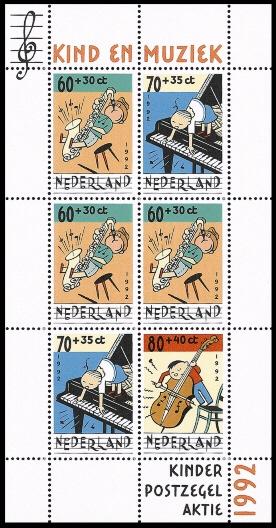 NVPH 1541 Kinderzegels 1992
