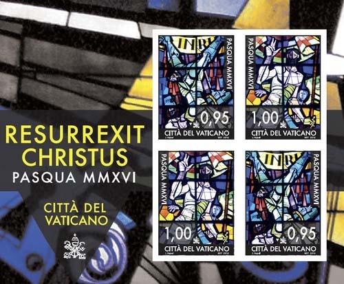 Paaspostzegels Vaticaan
