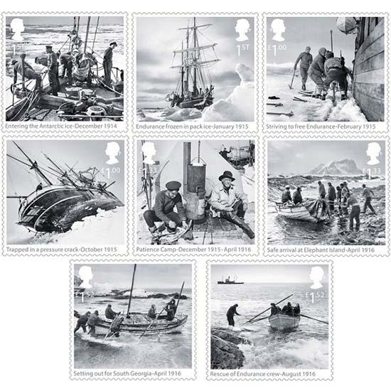 Shackleton postzegel Engeland
