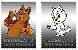 Bommel en Tom Poes postzegel