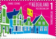 Postzegelvel Postcrossing 2016 - Alkmaar - Zaanse Schans