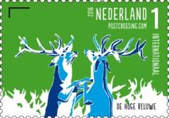 Postzegelvel Postcrossing 2016 - De Hoge Veluwe