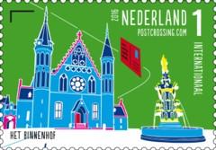 Postzegelvel Postcrossing 2016 - Het Binnenhof