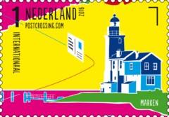 Postzegelvel Postcrossing 2016 - Marken