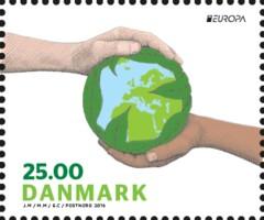 PostEurop 2016 Denk Groen - Denemarken [1]