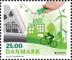 PostEurop 2016 Denk Groen - Denemarken [2]