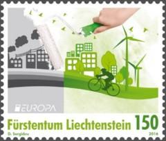 PostEurop 2016 Denk Groen - Liechtenstein [2]