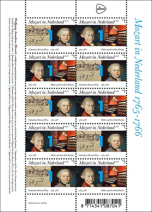 Mozart in Nederladn 1765-1766