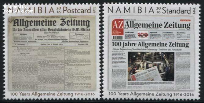Postzegel Namibië 2016