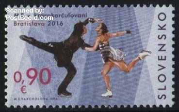Postzegel Slowakije 2016