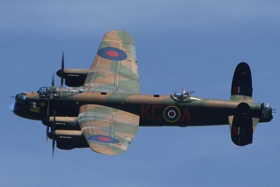 Lancaster bommenwerper a