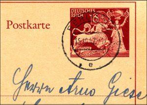 Reich P 293 Berlin 1942